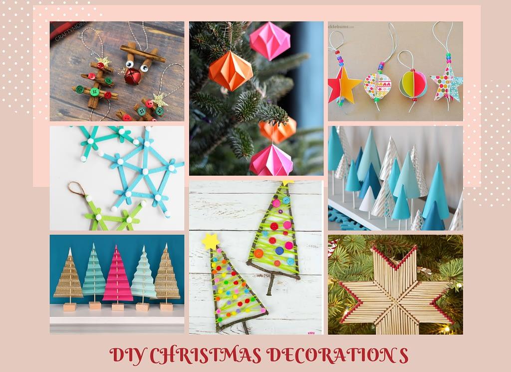 handmade christmas decorations DIY
