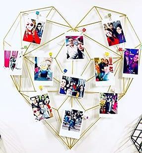 Heart shaped gallery wall frame to enhance decor